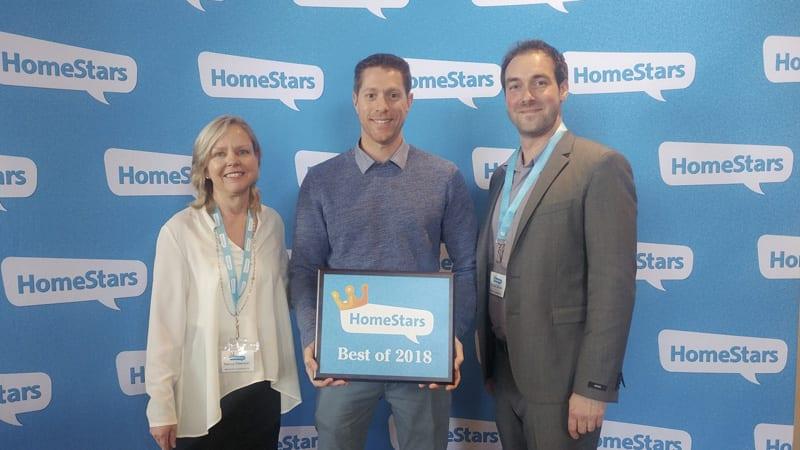 Homestars Award 2018