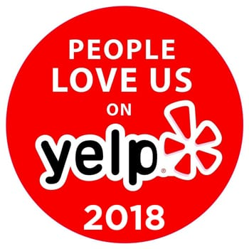 2018 Yelp Award Recipient