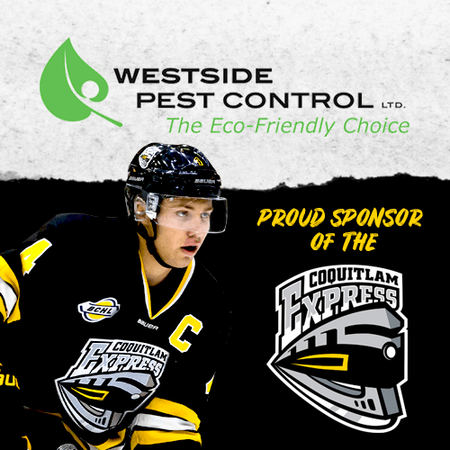 Westside Pest Control - Sponsoring Coquitlam Express Hockey Team