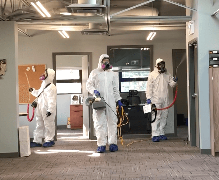 Coronavirus Cleaning team vancouver
