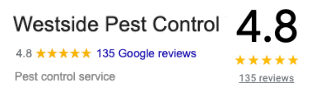 Google Reviews for Westside Pest Control